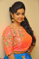 Nithya Shetty in Orange Choli at Kalamandir Foundation 7th anniversary Celebrations ~  Actress Galleries 028.JPG
