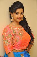 Nithya Shetty in Orange Choli at Kalamandir Foundation 7th anniversary Celebrations ~  Actress Galleries 028.JPG
