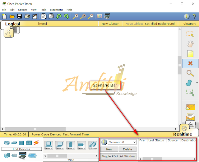[Tutorial Cisco Packet Tracer 01] Pengenalan Jendela Kerja Cisco Packet Tracer v6.0.1-anditii.web.id