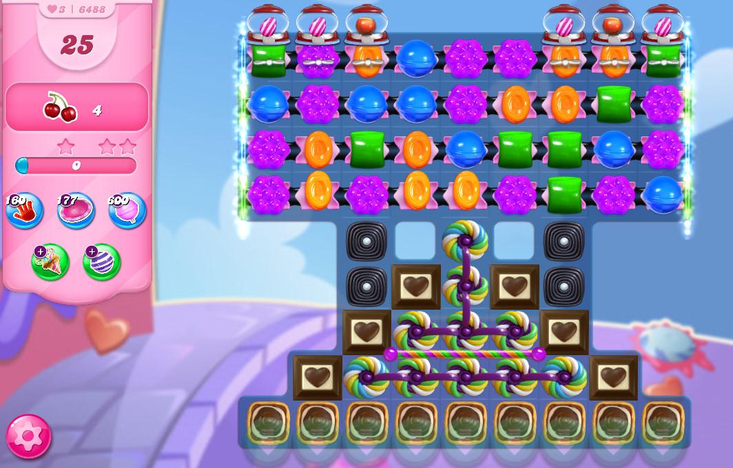 Candy Crush Saga level 6488