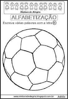 Desenho de bola e dia da criança