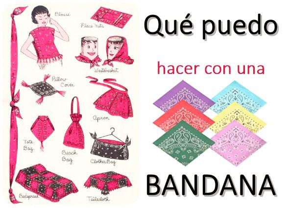 bandanas manualidades, diys bandannas, pañuelos paisley