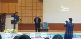 Brave student in Tabriz Uni denounces Iran's 1988massacre