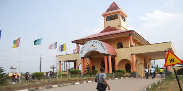 The Delta State Polytechnic suspended four Students over an alleged illegal possession of guns