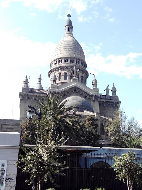 Iglesia de los Sacramentinos, Santiago, Chile