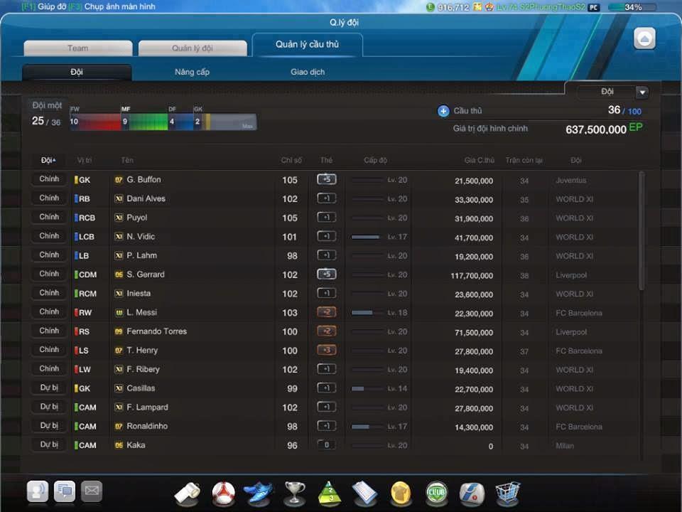 Bán Acc Fifa Online 3 Giá Rẻ