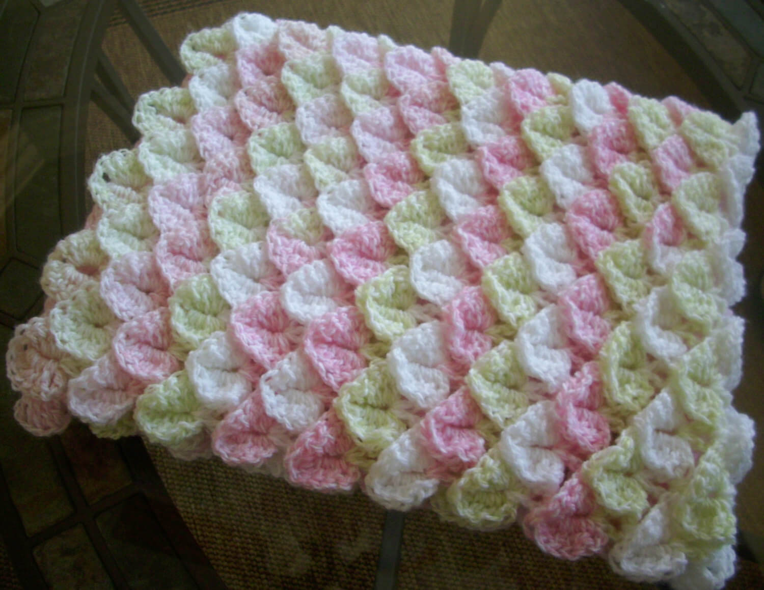 How to crocodile stitch crochet Free Pattern.