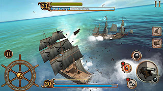 Download Game Ships of Battle Age of Pirates V1.6 MOD Apk ( Unlimited Money )