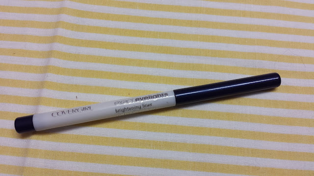 RE-DISCOVERY   Covergirl Exact Eyelights Brightening Liner in radiant sapphire