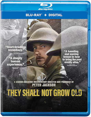They Shall Not Grow Old Blu Ray