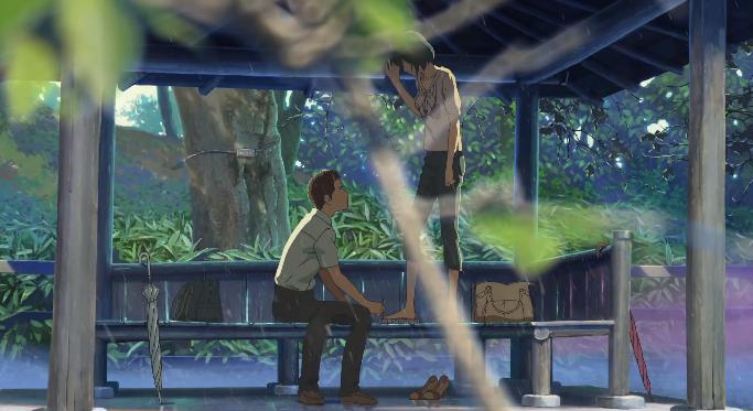 Film Ha Ha The Garden Of Words Makoto Shinkai 2013