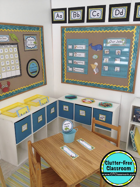 Classroom Beach Decor ~ Beach themed classroom ideas printable