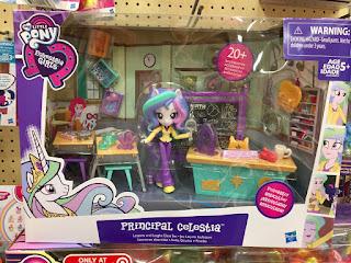 MLP Store Finds - Equestria Girls Minis Principal Celestia