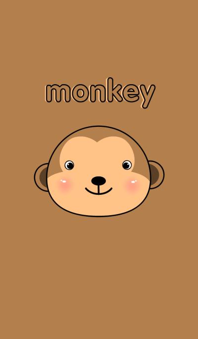 Cute Face Monkey theme