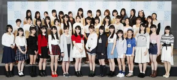 stu48 member generasi pertama 1st generation