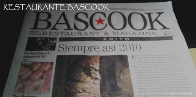 Restaurante Baskcook, cocina de autor