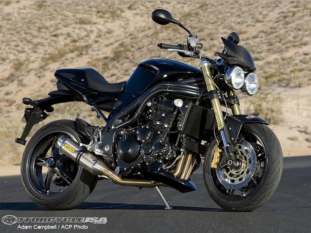 Triumph Speed Triple Exhaust sound