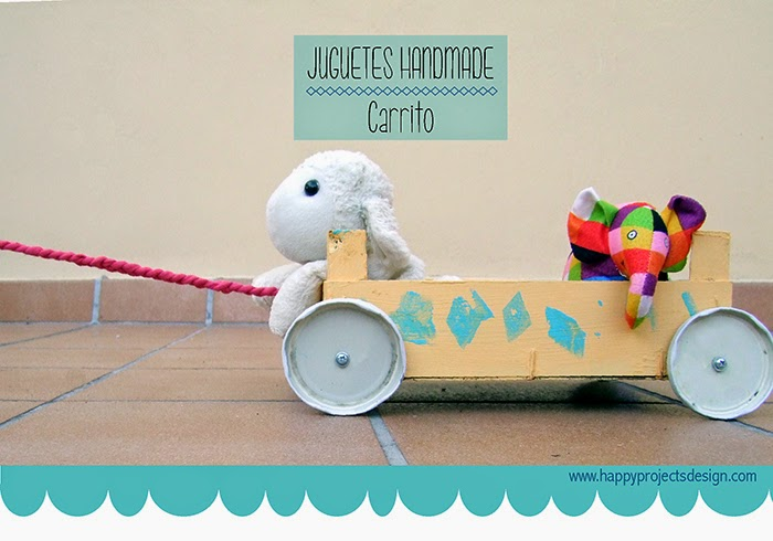 Juguetes Handmade: carrito