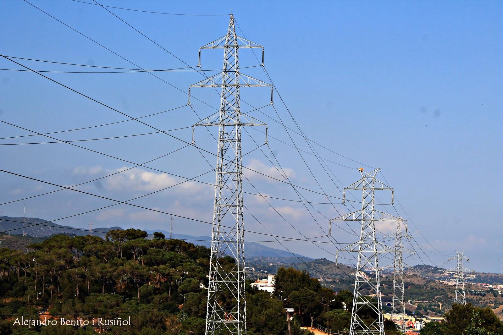 Electricidad Electricitat Materiales L 237 Neas Alta Tensi 243 N