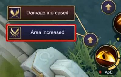 Pilihan kekuatan spesial skill 1 Vale Mobile Legends