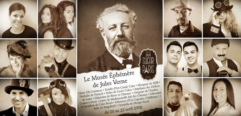 Le Musée Éphémère de Jules Verne :14 artistes réunis sur le projet