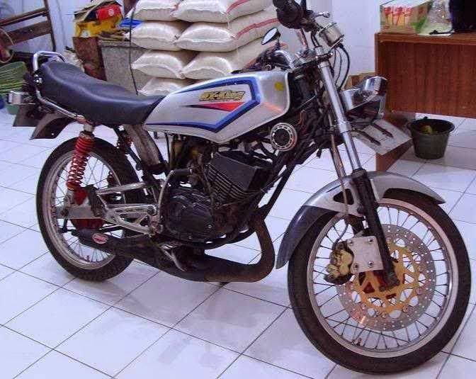 contoh modif rx king hitam