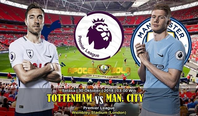 Prediksi Tottenham VS Manchester City 30 Oktober 2018