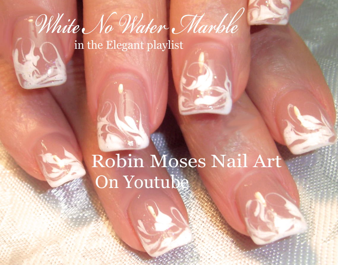 Nail Art by Robin Moses: No water Marble Nail art Design ...