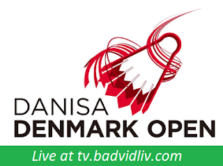 Danisa Denmark Open 2017 live streaming and videos