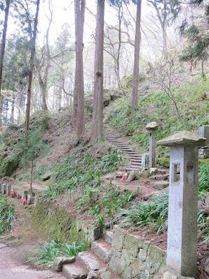 Yamadera Temple steps
