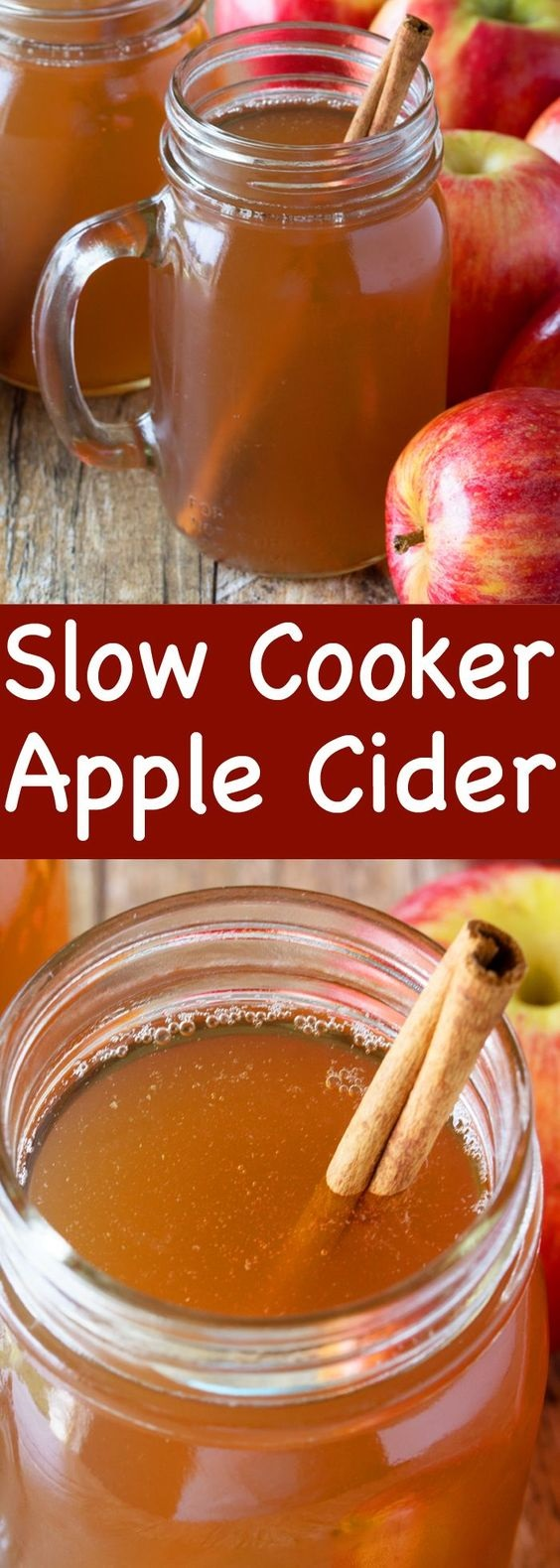 Slow Cooker Apple Cider From Scratch