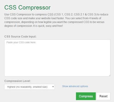 Nén Javascript và CSS để tăng tốc cho web