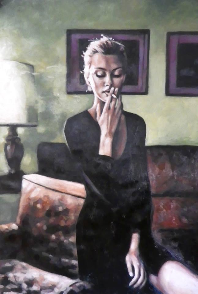 Thomas Saliot ~ figurativo - mulheres