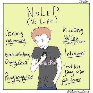 Apa itu Nolep? Arti Nolep dalam Bahasa Gaul