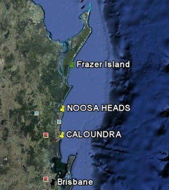 Tezza's Beaches and Islands: Noosa Heads
