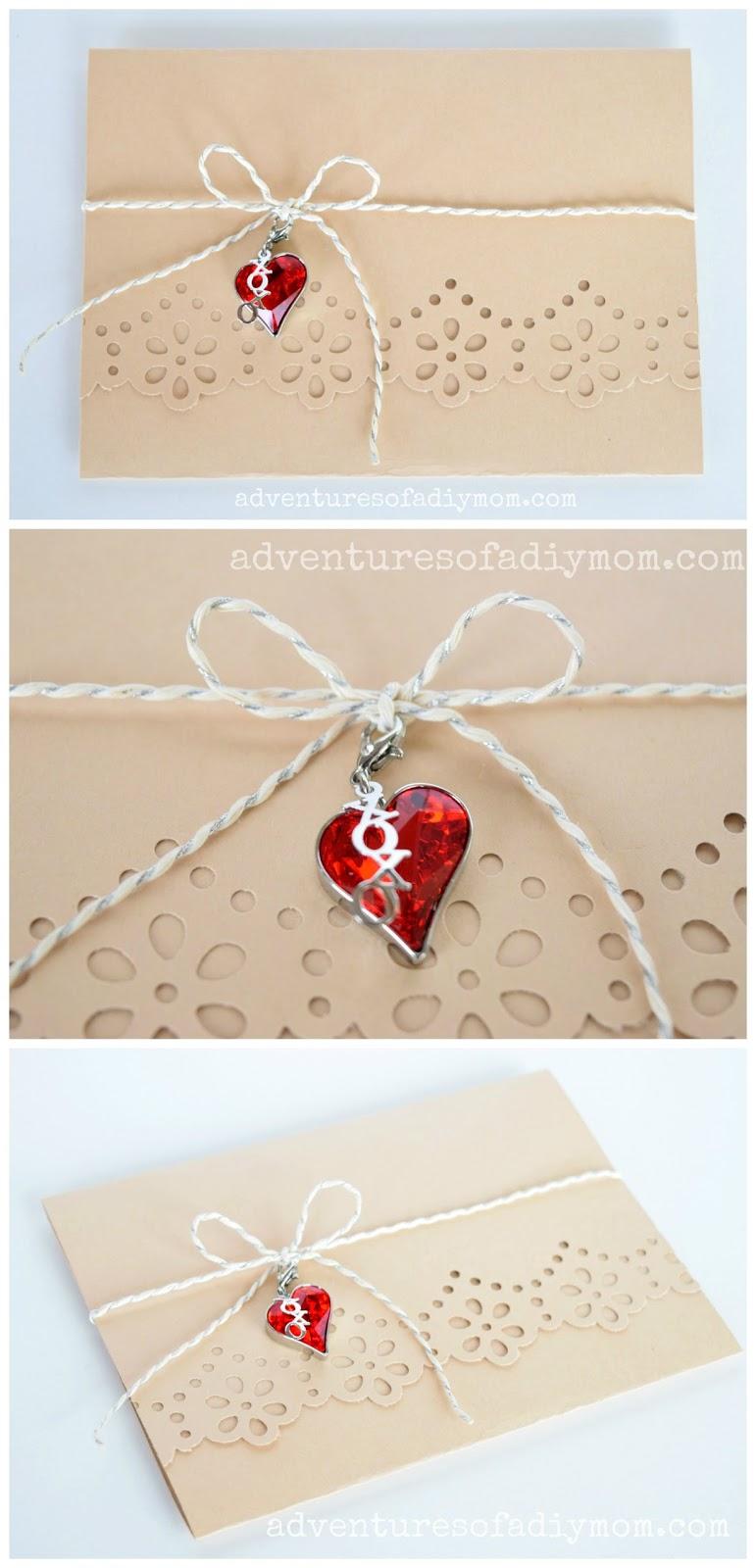 simple handmade card  adventures of a diy mom