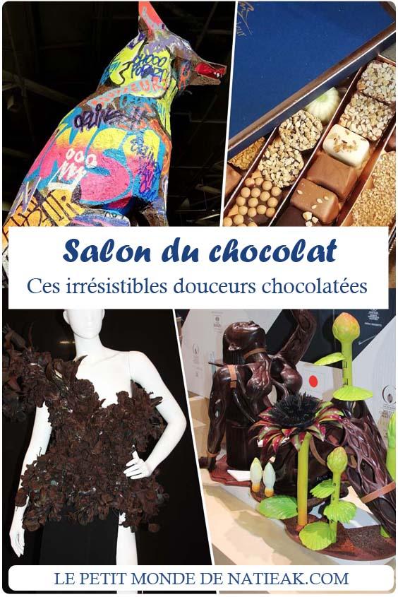 avis sur les irrésistibles douceurs chocolatées du Salon du chocolat 2018