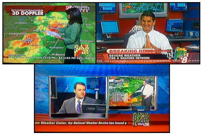 Alabama NewsCenter: Severe Weather Coverage From WAKA and WSFA