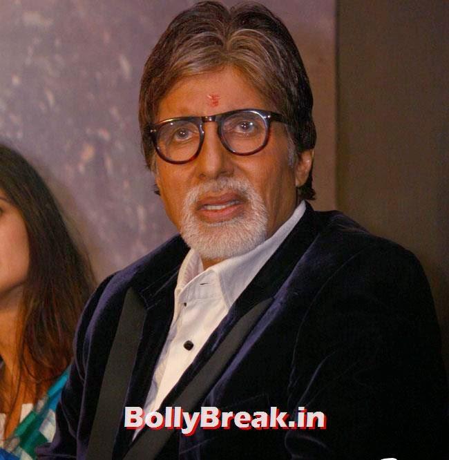 Amitabh Bachchan, Amitabh & Sarika at Poster Launch of TV Series Yudh