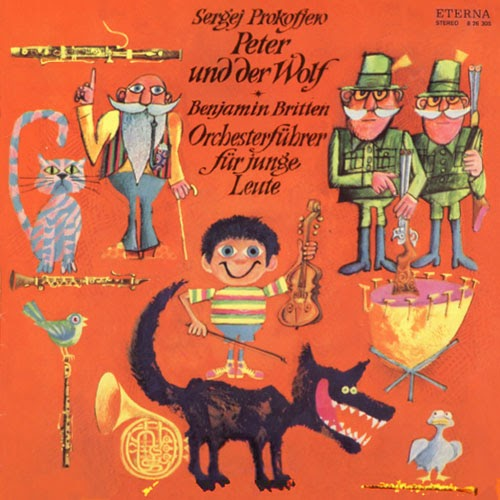 Peter And The Wolf Eterna 1973