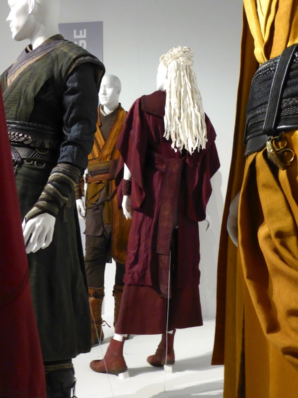 Doctor Strange Blonde Zealot film costume back