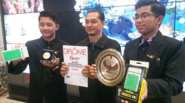 Pelajar MRSM Cipta Power Bank Kalahkan 1,000 Peserta Seluruh Dunia
