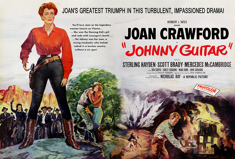 No money was lavished on the production. Johnny Guitar ( 1954 ) - Silver Scenes - A Blog for ...