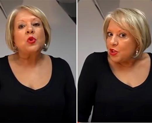 """(VIDEO) La doctora Nancy le dio hasta con el tobo a Maduro: """"Señores, despertemos"""""""