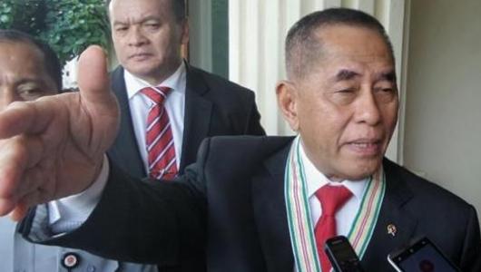Ryamizard: Sekarang Sedikit-sedikit Pak Jokowi, Enak Saja