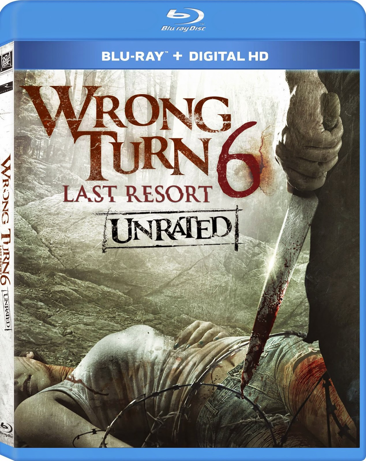 Wrong Turn 6 Last Resort Blu-ray Cover Caratula
