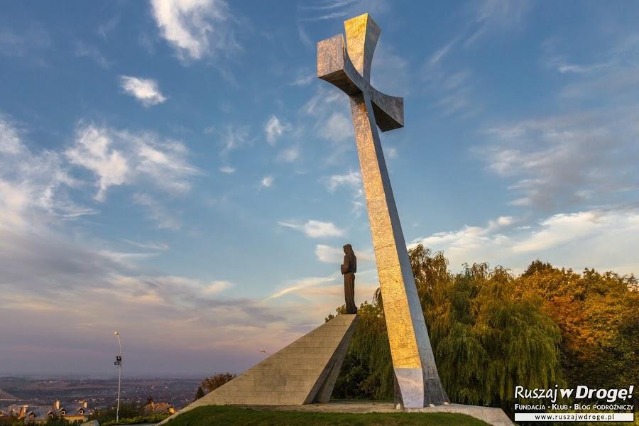 Widoki z Kopca Tatarskiego w Przemyślu