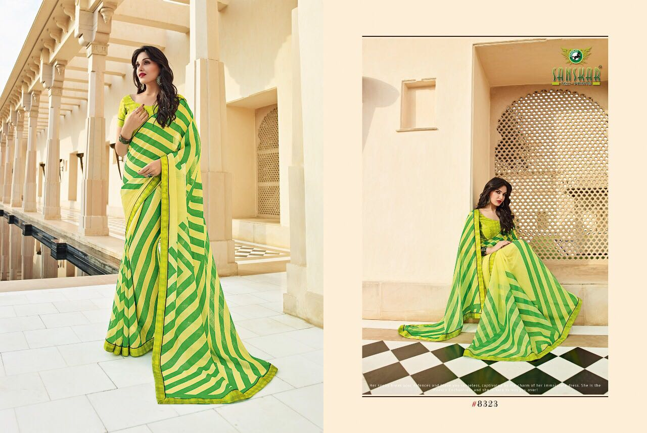 SEA BERRY-2-New Arrival Designer Georgette Saree For women