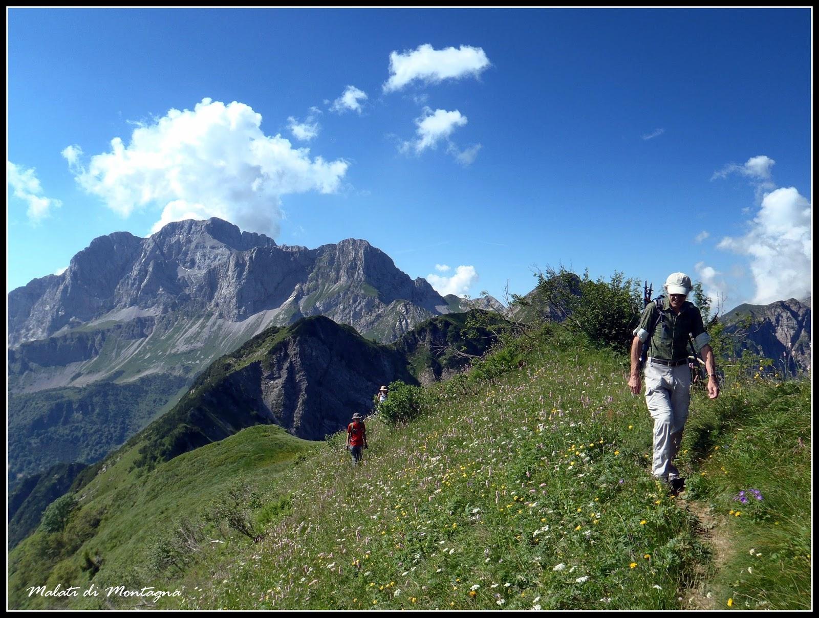 Malati di montagna tre passi una cima un rifugio e un for Rifugio in baita di montagna