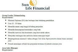 Lowongan Kerja Sun Life Financial
